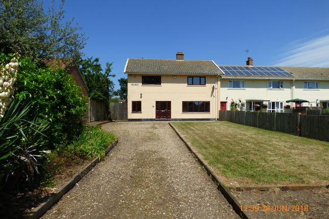 Thumbnail End terrace house to rent in Yarmouth Road, Hales, Norwich