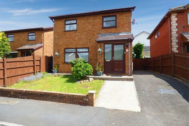 Thumbnail Detached house for sale in Julian Heights, Fleur De Lis, Blackwood, Caerphilly