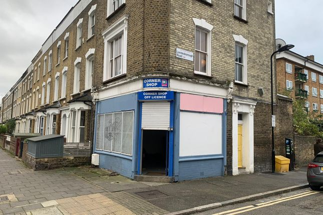 Retail premises to let in Barbauld Raod, London