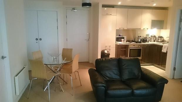 Lounge/Kitchen of Blackfriars Road, Salford M3