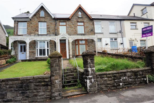 Thumbnail Terraced house for sale in Llewellyn Street, Pentre