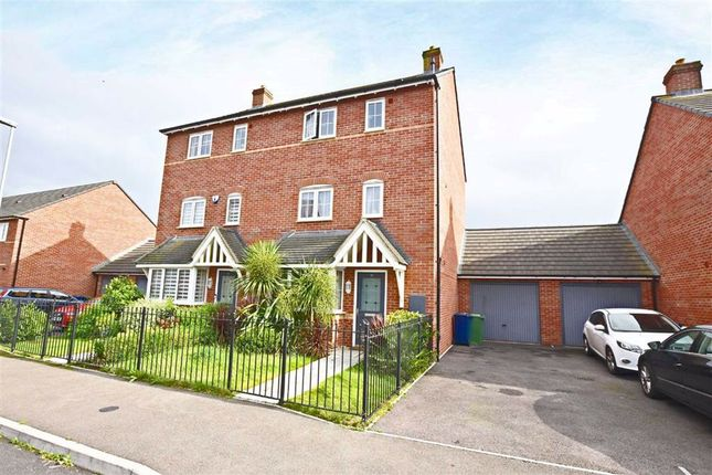 Thumbnail Semi-detached house for sale in Winter Gate Road, Longford, Gloucester