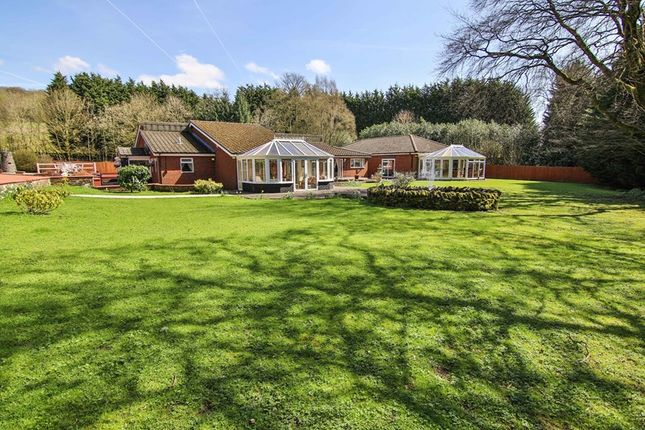 Thumbnail Detached bungalow for sale in Pentrebach, Merthyr Tydfil