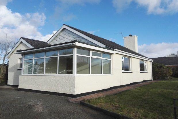 Thumbnail Bungalow to rent in Ffordd Gelli Morgan, Parc Menai, Bangor