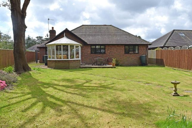 Thumbnail Detached bungalow for sale in 3 Holmwood Close, Bembridge, Isle Of Wight
