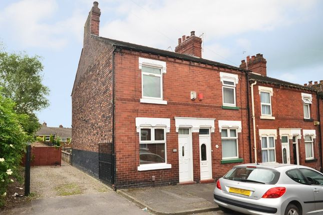 Thumbnail End terrace house for sale in Hodgkinson Street, Chesterton, Newcastle-Under-Lyme