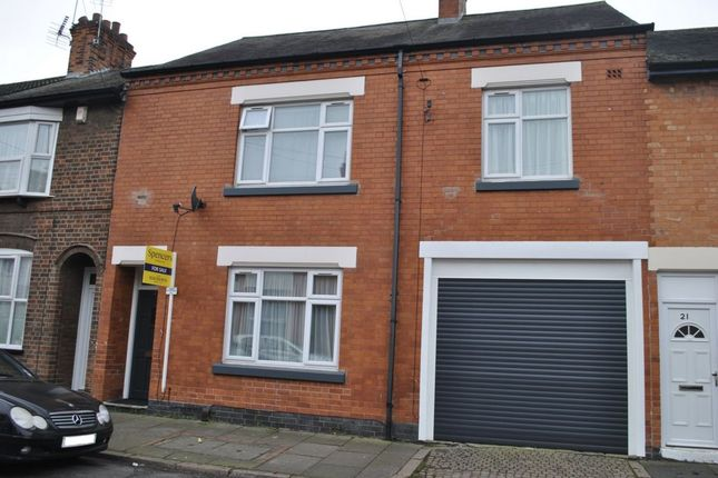 Thumbnail Terraced house for sale in Trafford Road, Leicester