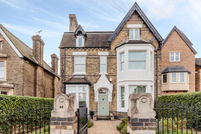 Thumbnail Detached house for sale in Fletton Avenue, Peterborough