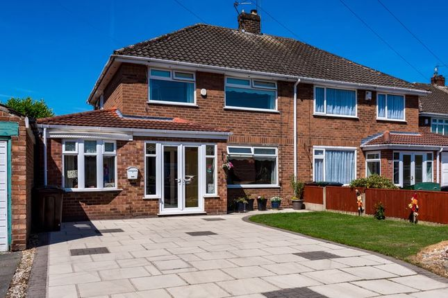 Thumbnail Semi-detached house for sale in Merrilox Avenue, Maghull, Liverpool