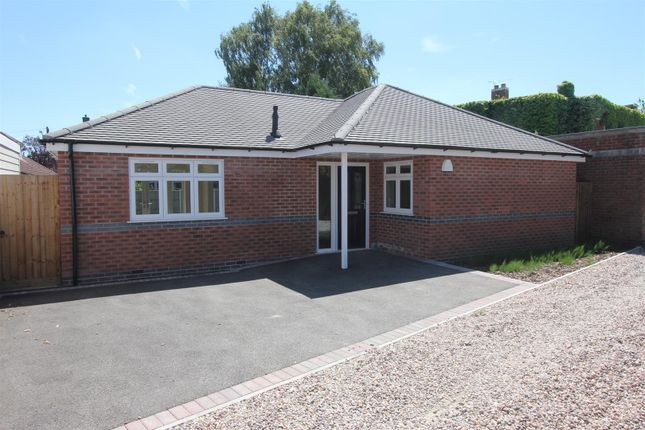 Thumbnail Detached bungalow for sale in Trafford Road, Hinckley