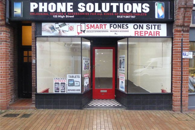 Thumbnail Retail premises for sale in The Lanes, High Street, Ilfracombe