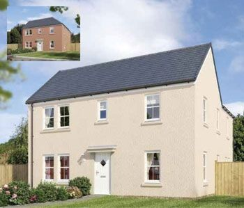 "Thumbnail Detached house for sale in ""The Ockle"" at Stable Gardens, Galashiels"