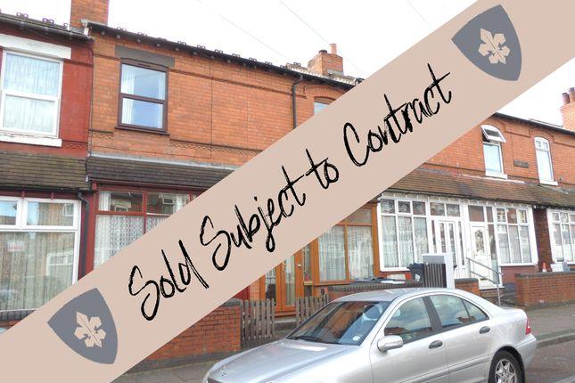 3 bed terraced house for sale in Farnham Road, Birmingham