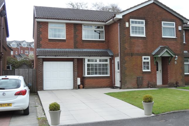 Thumbnail Semi-detached house for sale in Putney Close, Royton, Oldham