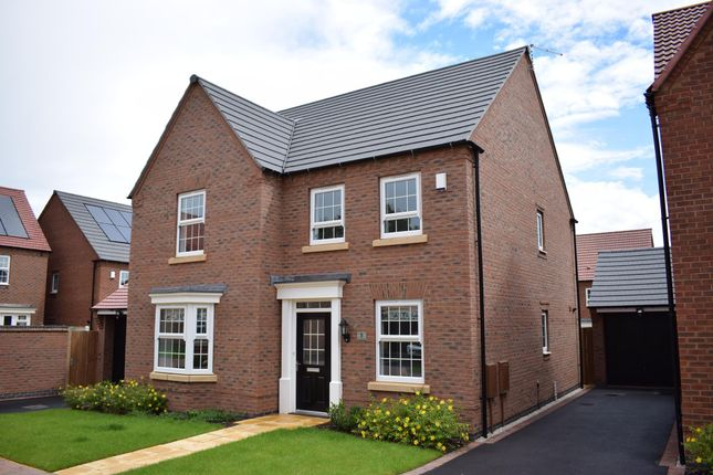 "Thumbnail Detached house for sale in ""Holden"" at Nottingham Road, Barrow Upon Soar, Loughborough"