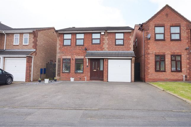 Thumbnail Detached house for sale in Swan Pool Grove, Walsall