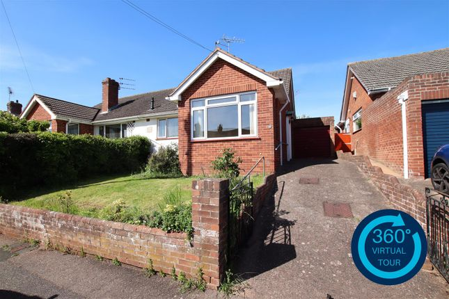 Thumbnail Semi-detached bungalow for sale in Lonsdale Road, Heavitree, Exeter