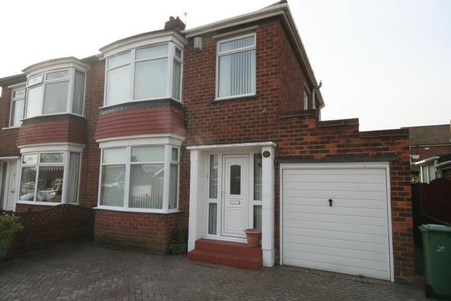 Thumbnail Semi-detached house to rent in Palm Grove, Stockton-On-Tees