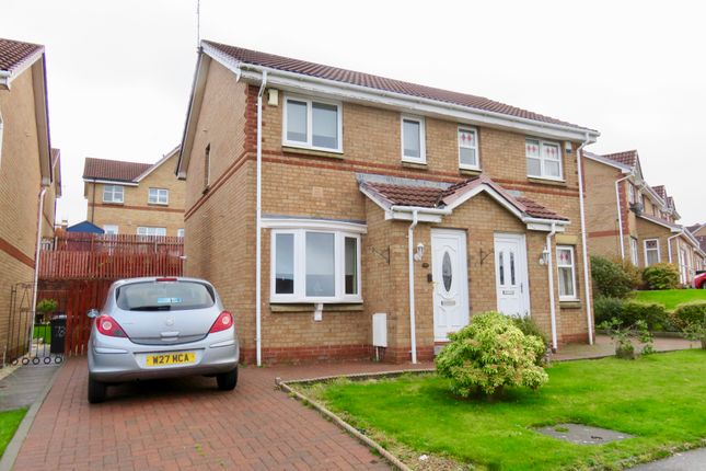 Thumbnail Semi-detached house for sale in Girvan Crescent, Airdrie