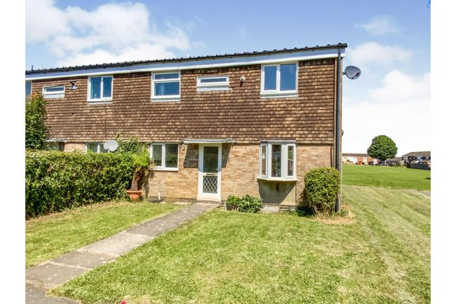 3 bed end terrace house for sale in Wordsworth Road, The Headlands, Daventry NN11