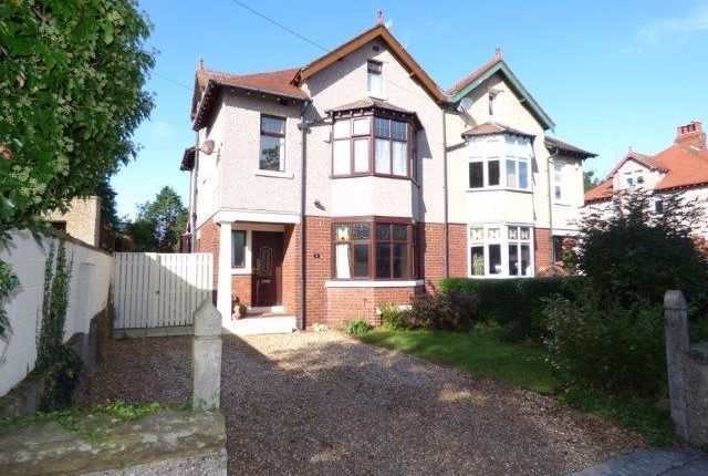 Thumbnail Semi-detached house for sale in Elms Road, Bare, Morecambe, Lancashire
