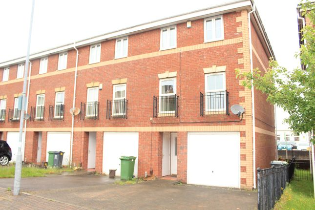 Thumbnail Town house for sale in Heol Dewi Sant, Heath, Cardiff
