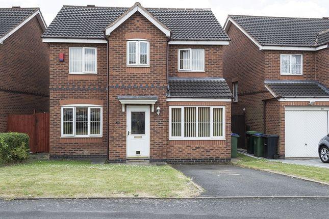 Thumbnail Detached house for sale in Eagle Lane, Tipton