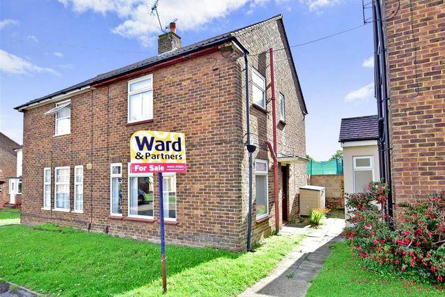 Thumbnail Semi-detached house for sale in Staplehurst Road, Twydall, Gillingham, Kent