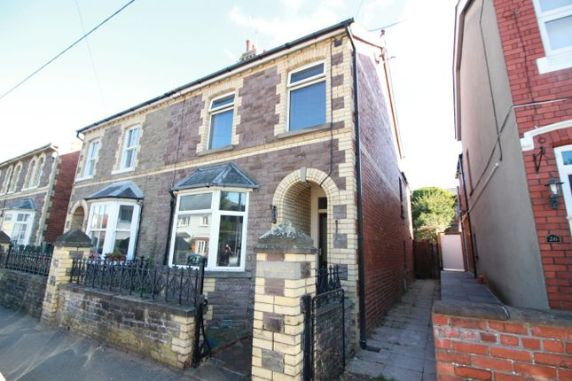 Thumbnail Semi-detached house for sale in Hatherleigh Road, Abergavenny