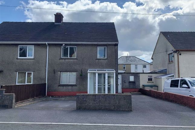 3 bed semi-detached house for sale in Troed Y Bryn, Tumble, Llanelli SA14