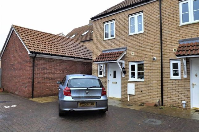 2 bed terraced house for sale in Lawyers Close, Holbeach, Spalding