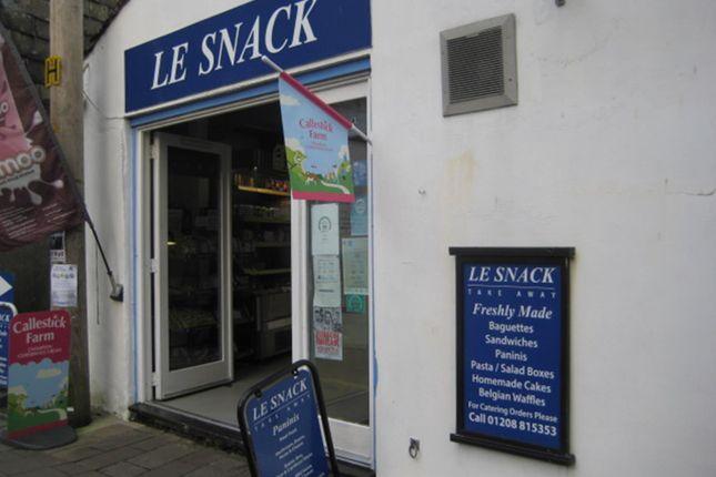 Restaurant/cafe for sale in 4 Foundry Street, Wadebridge, Cornwall