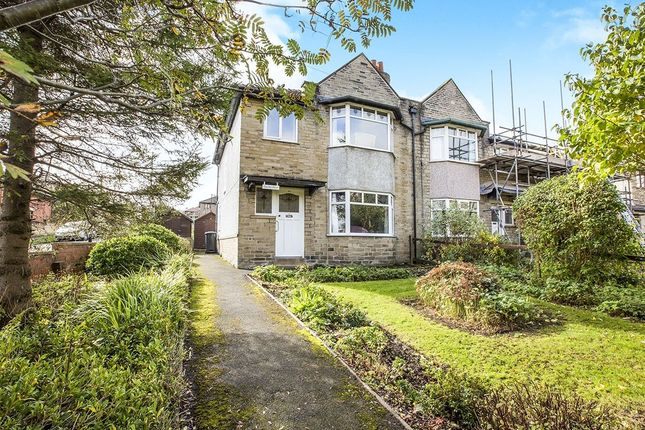Thumbnail Semi-detached house for sale in Caldene Avenue, Mytholmroyd, Hebden Bridge