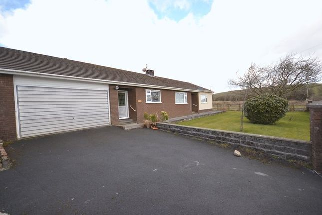 Thumbnail Bungalow to rent in Five Roads, Llanelli