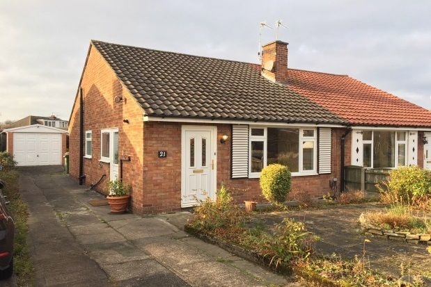 Thumbnail Bungalow to rent in Rosthernmere Road, Cheadle Hulme, Cheadle