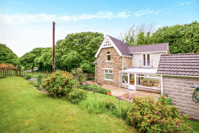 Thumbnail Detached house for sale in Crossing Cottage, Blackmill, Bridgend