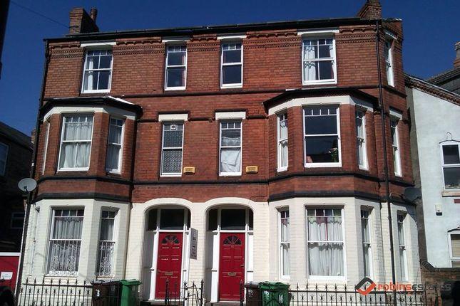 Thumbnail Semi-detached house to rent in Lake Street, Nottingham