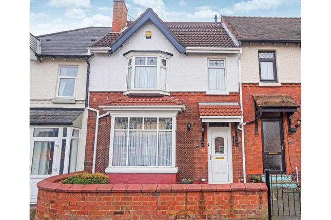 Thumbnail Terraced house for sale in Upper St. Marys Road, Smethwick
