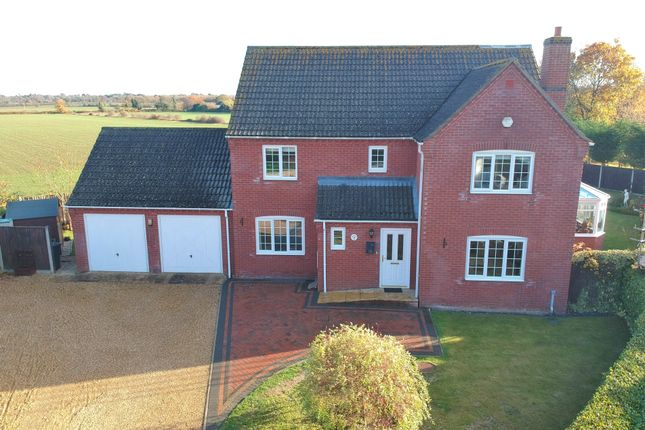 Thumbnail Detached house for sale in Dowling Close, Dereham