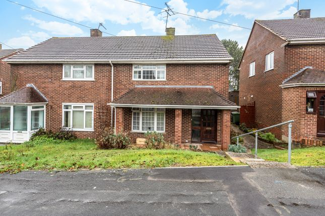 Thumbnail End terrace house to rent in Imber Road, Winnall, Winchester