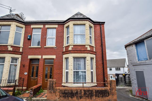Thumbnail End terrace house for sale in Station Street, Barry