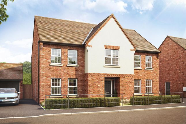 "Thumbnail Detached house for sale in ""Glidewell"" at Newton Road, Burton-On-Trent"