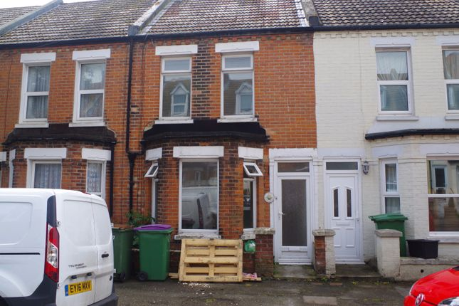 Thumbnail Terraced house to rent in Ethelbert Road, Folkestone
