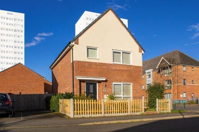 Thumbnail Detached house to rent in Woodpecker Grove, Birmingham