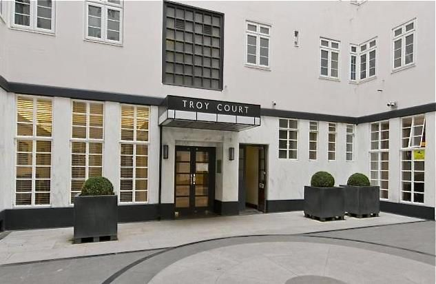 Troy Court, Kensington, London W8, 2 bedroom flat for sale