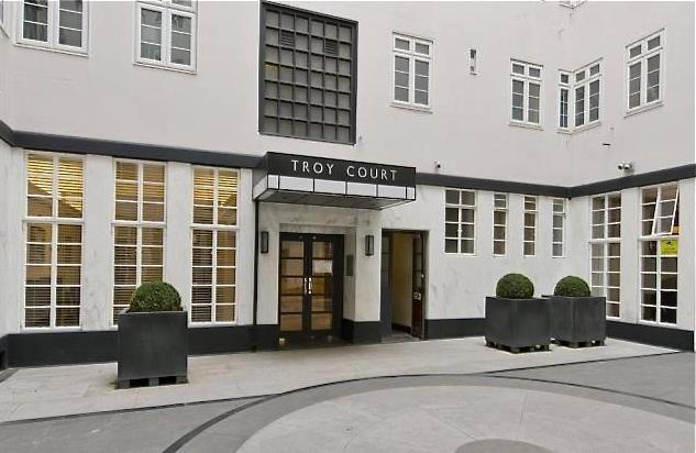 Thumbnail Flat for sale in Troy Court, Kensington, London