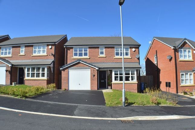 Thumbnail Detached house for sale in Rowan Crescent, Hyde