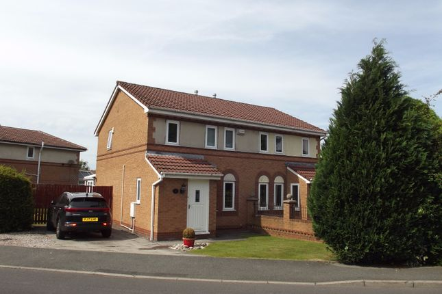 Thumbnail Semi-detached house to rent in Squires Wood, Fulwood, Preston