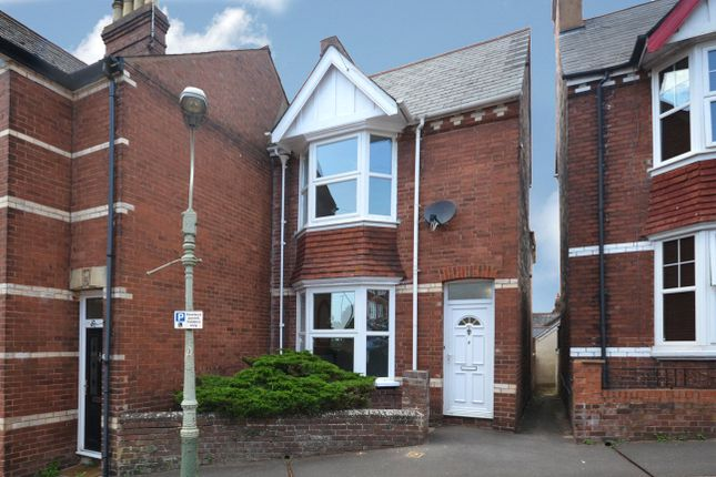 Thumbnail Semi-detached house to rent in Cedars Road, St. Leonards, Exeter