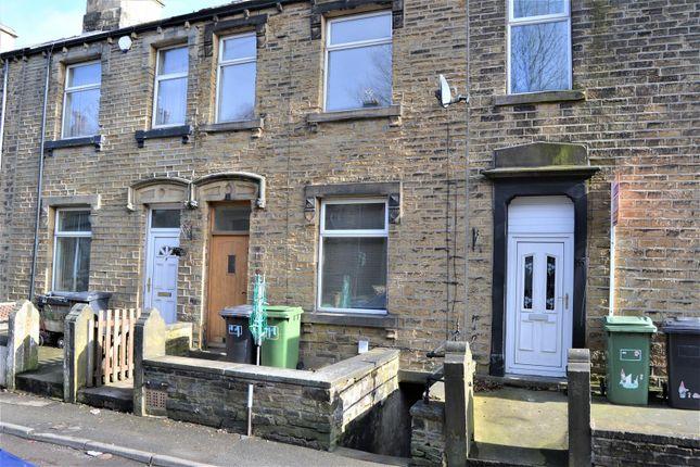Thumbnail Terraced house for sale in Chapel Terrace, Crosland Moor, Huddersfield